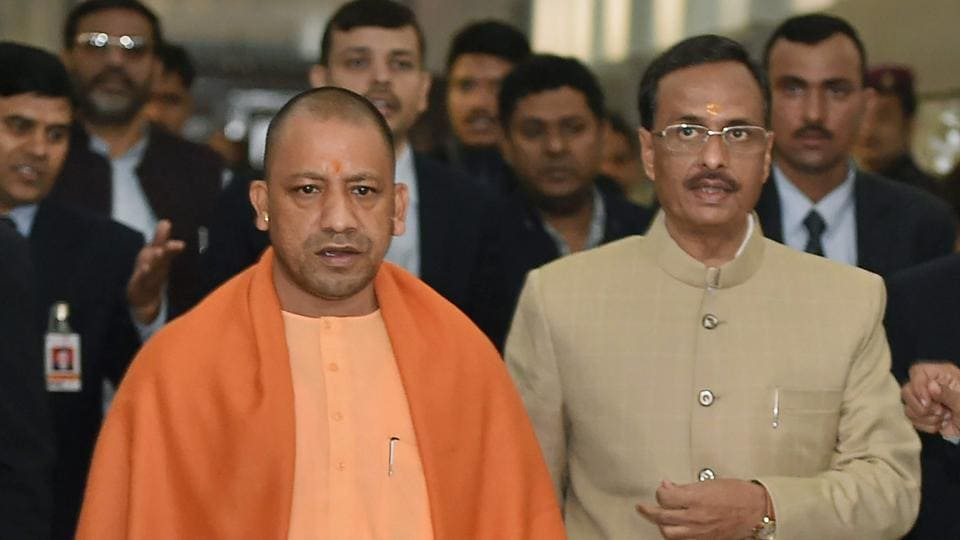 State of anarchy in Karnataka, alleges Yogi Adityanath