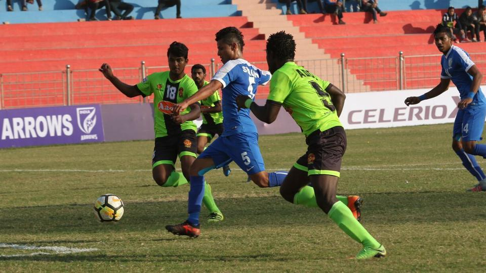 I-League,Gokulam Kerala FC,Indian Arrows