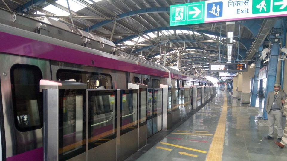 The platforms at all stations will have screen doors for safety of passengers. DMRC had installed such doors are  only on the Airport Express Line thus far.