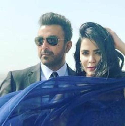 Shaan Shahid and Humaima Malick