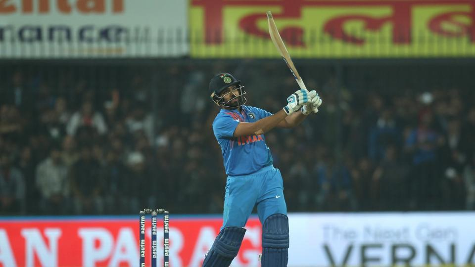 Rohit Sharma notched up his second T20I century off 35 balls, the joint-fastest ton in T20Is equalling the mark set by David Miller.  (BCCI)