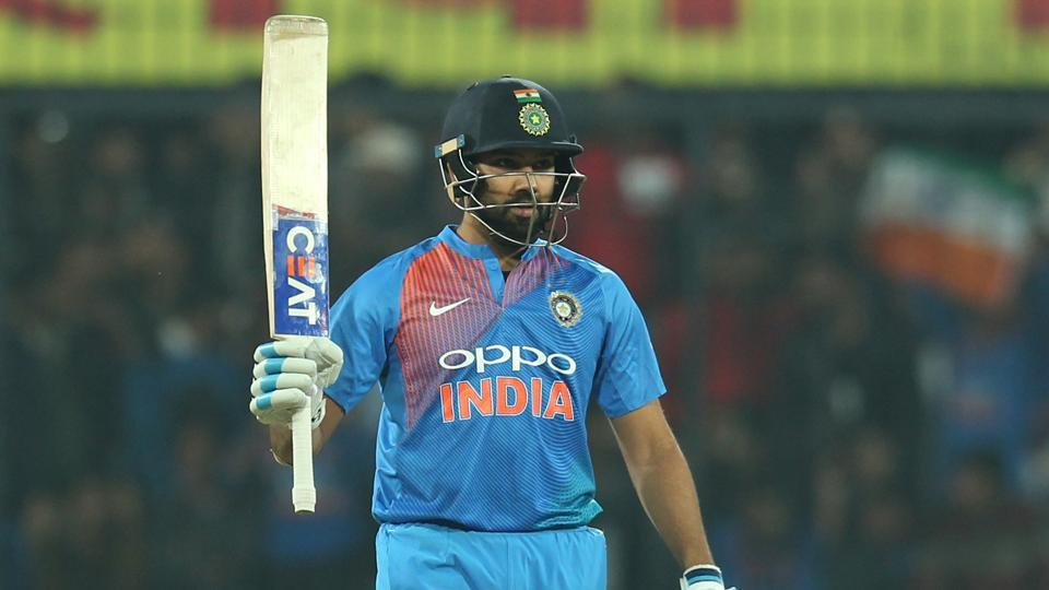 Rohit Sharma notched up an aggressive fifty but he was only getting started.  (BCCI)