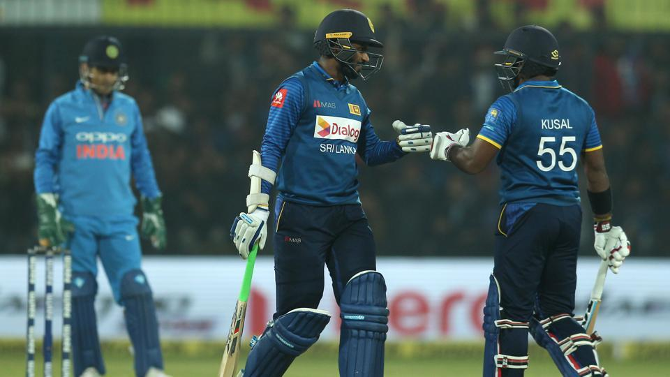 Upul Tharanga and Kusal Perera strung a solid partnership and took the attack to the Sri Lankan bowlers.  (BCCI)