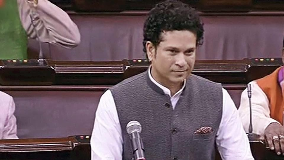 Sachin Tendulkar didn't get to deliver his speech in the Rajya Sabha on Thursday due to opposition protests, but he did share his views a day later on how India can become a better sporting nation.