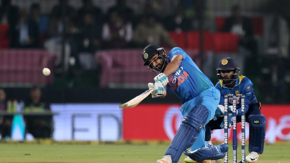 Rohit Sharma batted with aggression as India's openers laid a solid platform for a big score.  (BCCI)