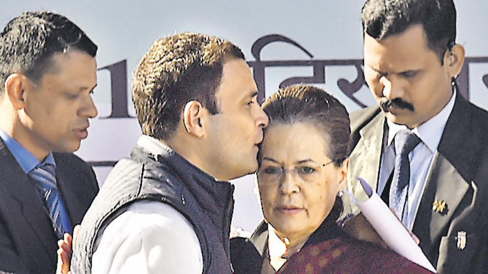 Constitution under attack by BJP, says Congress president Rahul Gandhi
