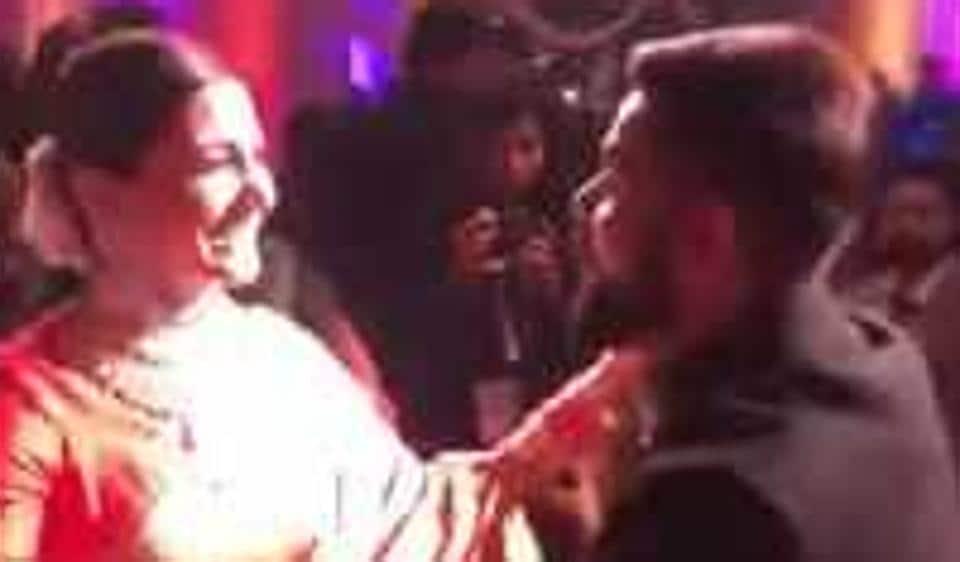 Not Virat Kohlis Moves It Is Anushka Sharma Dancing With Money In