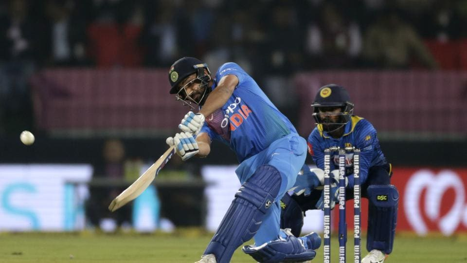 Rohit Sharma slams joint fastest T20I century off 35 balls