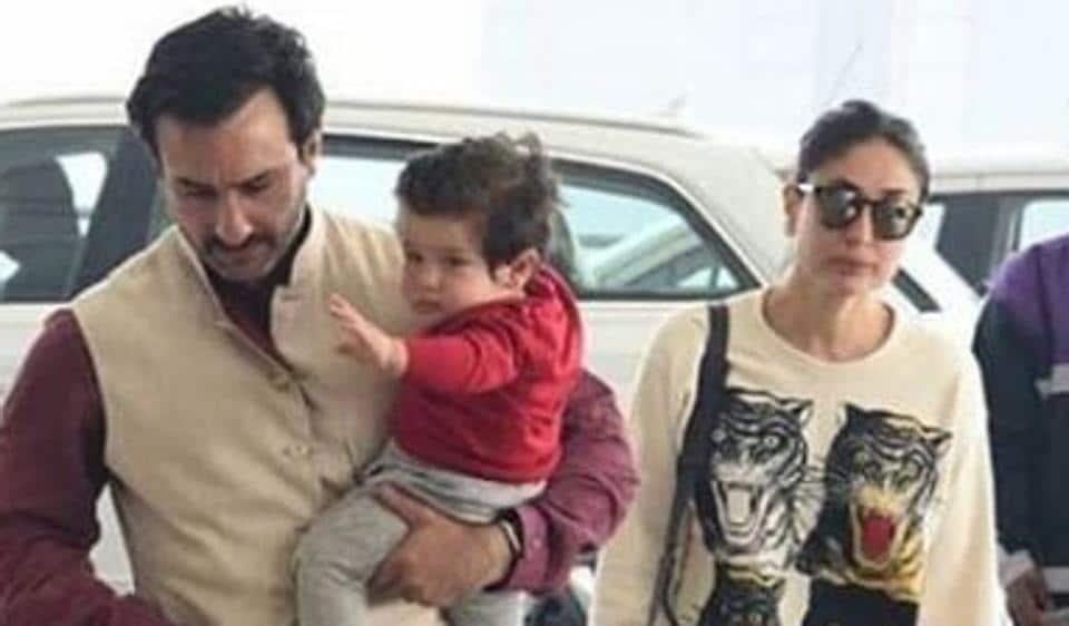 Taimur Ali Khan,Kareena Kapoor Khan,Saif Ali Khan