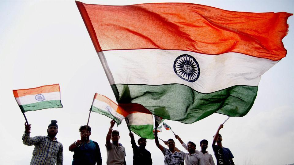 Notably, the Pakistani flag is made of stronger material, but the Tricolour was made only of the khadi fabric as per norms, due to which it could not withstand high-velocity winds and was to be taken down.