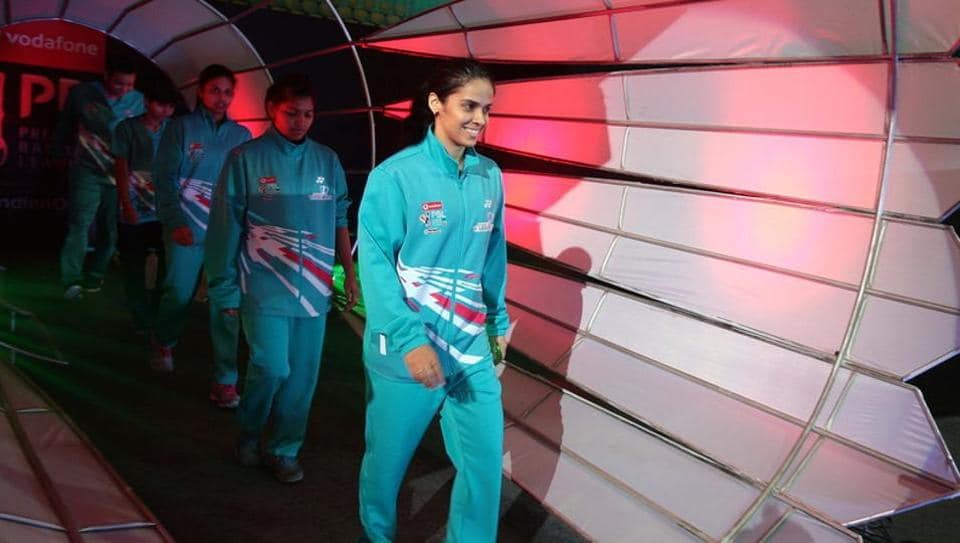Saina Nehwal was unable to play but the Awadhe Warriors overcame her last-minute pullout as they stunned defending champions Chennai Smashers in the Premier Badminton League (PBL) opener.