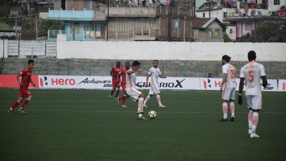 Shillong Lajong,Neroca FC,I-League