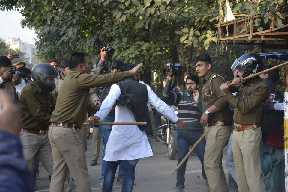 BJP, Hindutva outfits try to disrupt wedding, clash with police