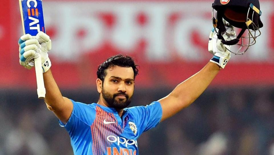 Rohit Sharma smashed a 35-ball hundred against Sri Lanka on Friday.