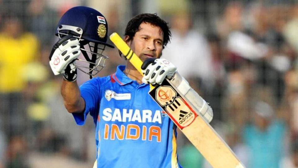 Sachin Tendulkar played in 463 ODIs, scoring 49 centuries.