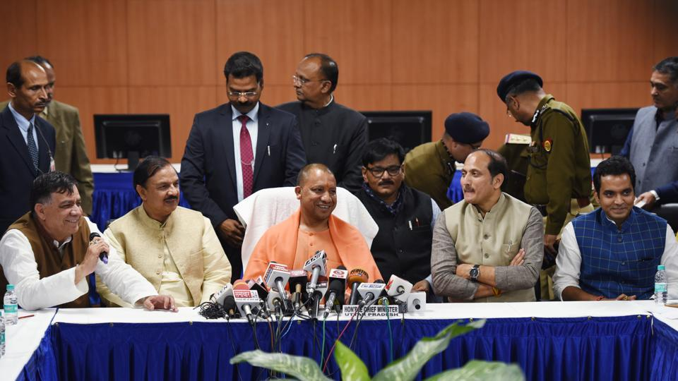 Yogi Adityanath will again visit Noida on December 25 to welcome Prime Minister Narendra Modi for inaugurating the Botanical Garden to Kalkaji Mandir Metro station.