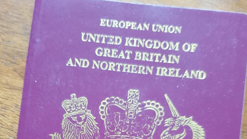 £500m cost of returning to blue passports is branded 'fake news'