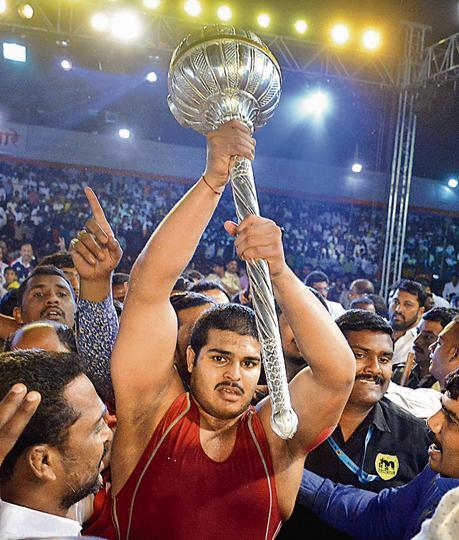 Pune,Abhijit Katke,wrestles