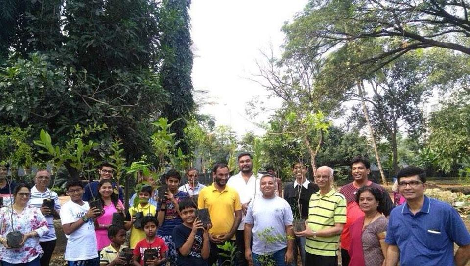 Residents of a housing society in Kandivli created a 10,000 sqft garden to restore lost biodiversity.