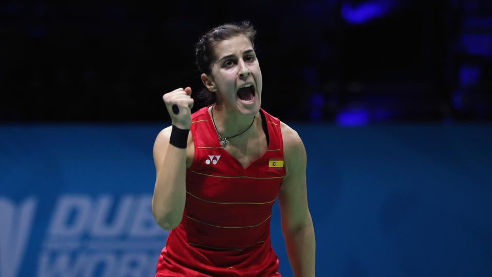 Carolina Marin got Hyderabad Hunters off to a great start in the Premier Badminton League by helping her team take an unassailable 3-0 lead over North East Warriors.