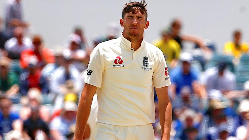 England's Craig Overton was ruled out for the fourth Ashes Test against Australia in Melbourne.
