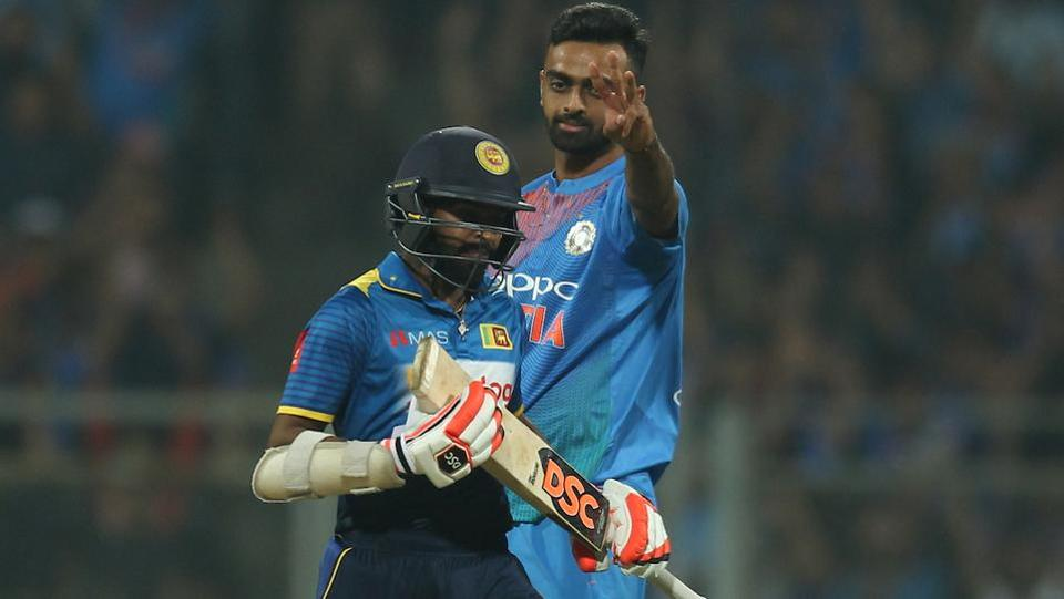 The dead rubber did not start well for Sri Lanka as the Jaydev Unadkat-led attack regularly picked wickets. (BCCI)