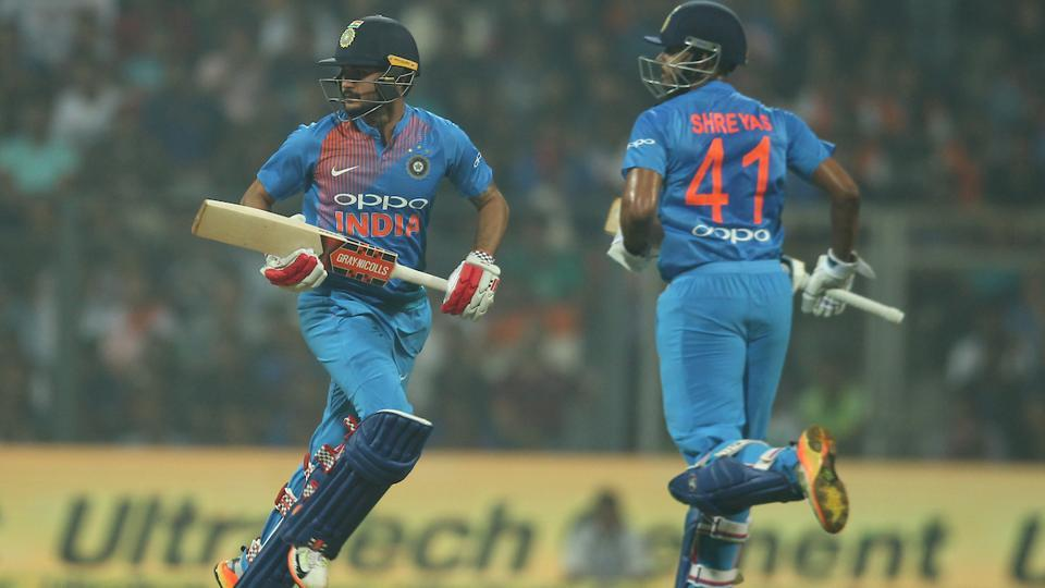 Manish Pandey and Shreyas Iyer handled the innings for India in the middle overs but both scoring in 30s. (BCCI)