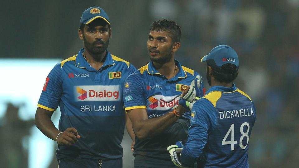 Sri Lanka then saw their chance and stemmed the run flow also picking a few wickets. Dasun Shanaka and Dushmantha Chameera took two each. (BCCI)