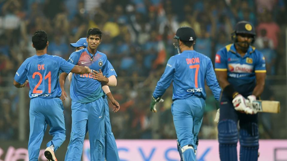 Washington Sundar had an impressive debut in Twenty20 Internationals as he picked up 1/22 in four overs against Sri Lanka at the Wankhede stadium.