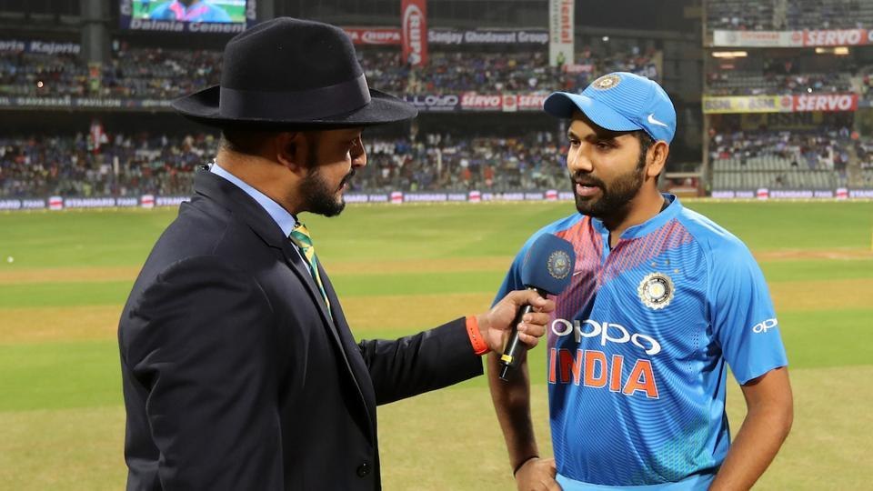 India captain Rohit Sharma won the toss and opted to field against Sri Lanka in the third and final T20. (BCCI)