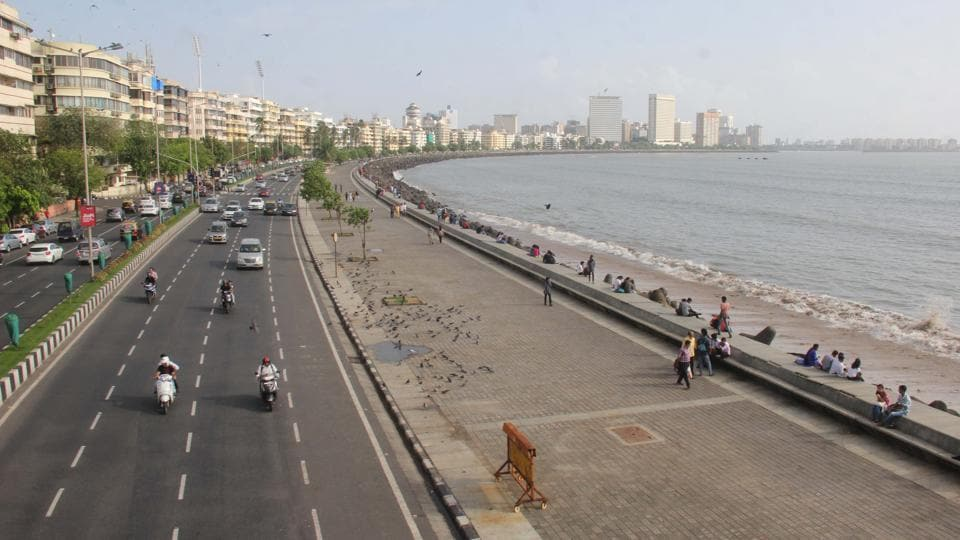 Marine Drive promenade is one of the walkways that witness regular fairs and exhibitions by NGOs and companies.