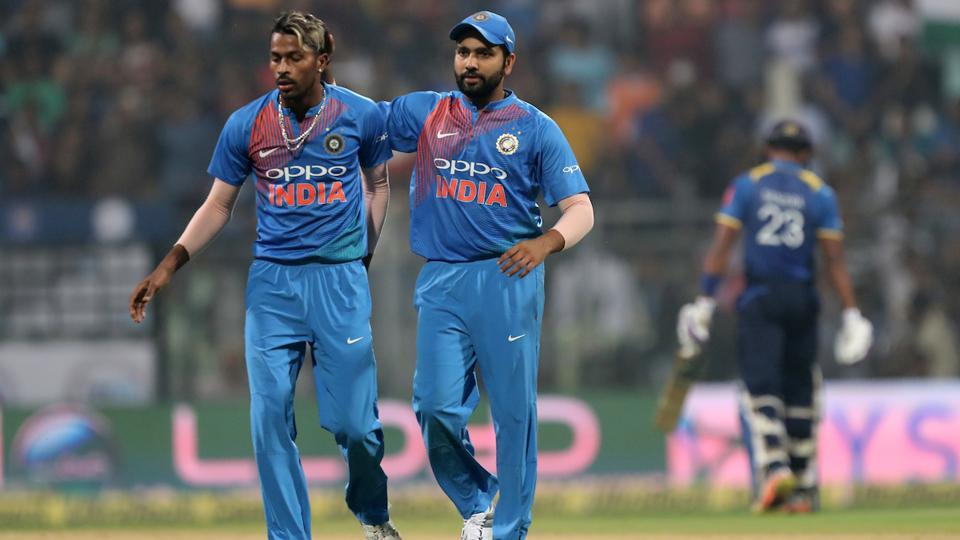 Hardik Pandya also starred with the ball, scalping two as Kuldeep Yadav and Mohammed Siraj took one each. (BCCI)