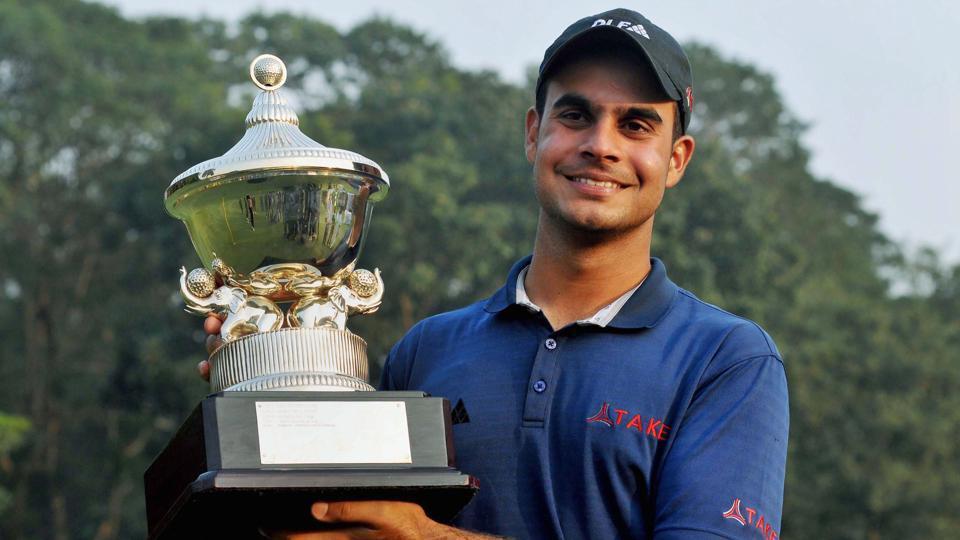 Shubankar Sharma won his his sixth professional trophy by winning the PGTI season-ending championship at the Royal Calcutta Golf Club
