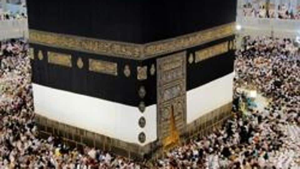 Muslim pilgrims at the Kaaba at the Masjid al-Haram Mosque, Islam's holiest site, in Mecca, in September 2015. The pilgrimage is one of Islam's five pillars – it has to be performed at least once in one's life if he or she can afford it.