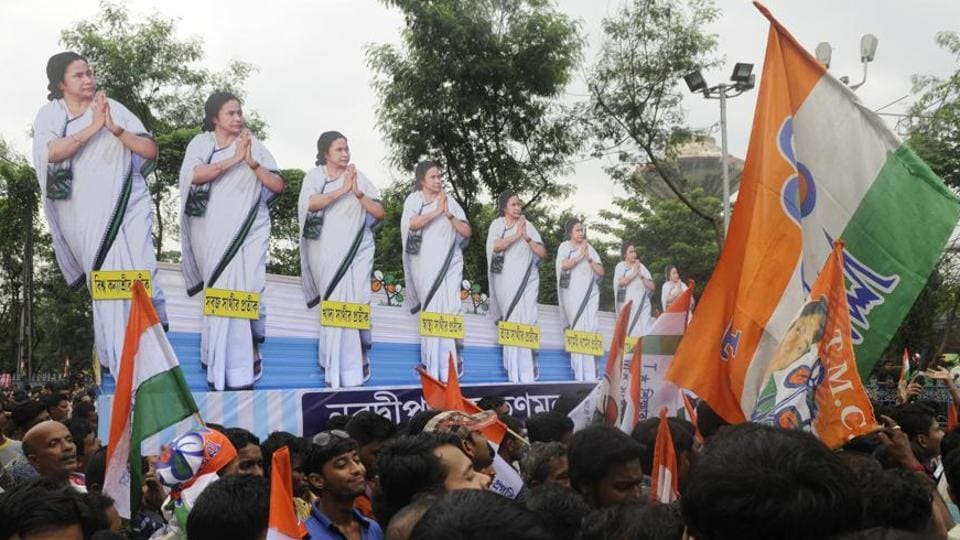 Trinamool Congress on Sunday registered an emphatic victory in the  Sabang assembly bypoll  in West Bengal.
