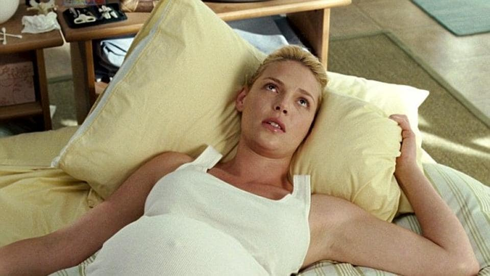 Katherine Heigl in a still from Knocked Up.