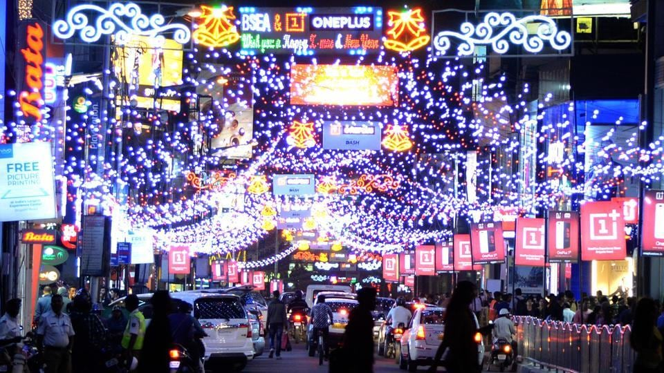 New Year's Eve celebration,Brigade Road,Silicon valley