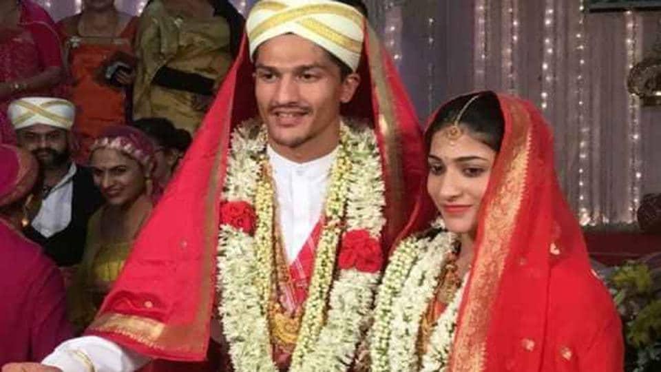 Ashwini Ponnappa got married to Karan Medappa on Sunday.