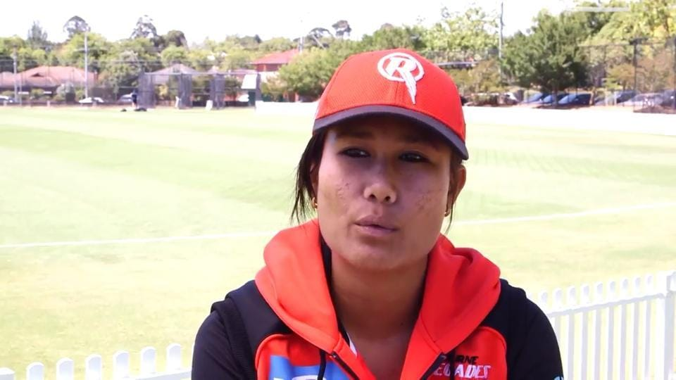 Rubina Chhetri, captain of the Nepal women's cricket team, is playing in the Chief Minister's T20 premier league in Jammu.