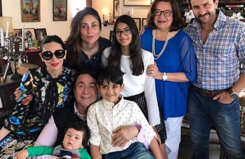 Karisma Kapoor shared pictures from the Kapoor Family Christmas on Monday.
