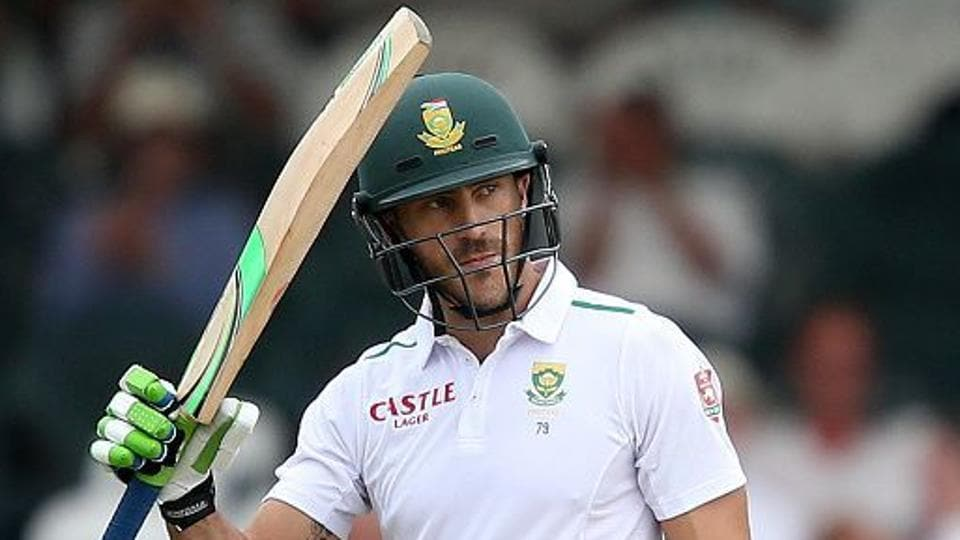 Faf du Plessis,Boxing Day Test,South Africa vs Zimbabwe