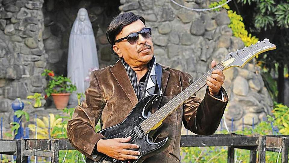 Naresh Jacob at Christ King Church in Sector 19, Chandigarh, on Sunday.