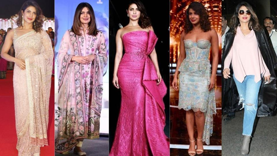 Priyanka arrived in Mumbai on December 16, and has been wowing with her sartorial wins ever since.