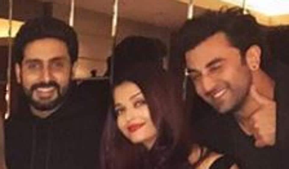 Aishwarya Rai,Abhishek Bachchan,Ranbir Kapoor