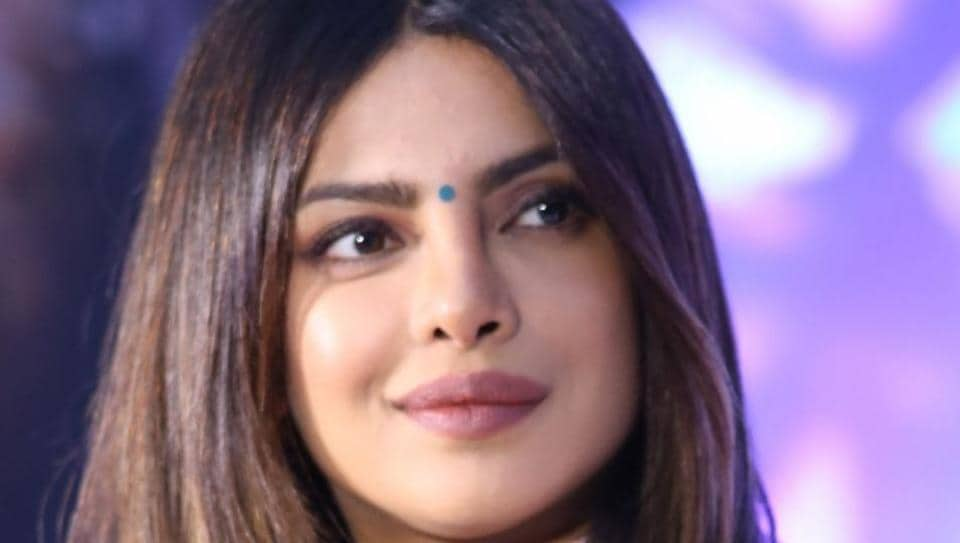 Actor and UNICEF global Goodwill Ambassador Priyanka Chopra during a programme in New Delhi.