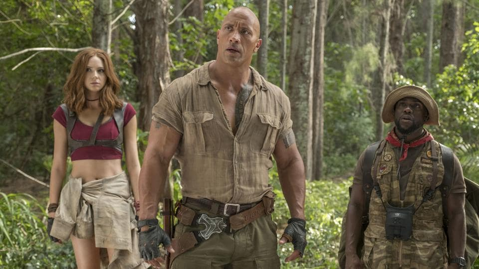 Dwayne Johnson,Jumanji,The Rock