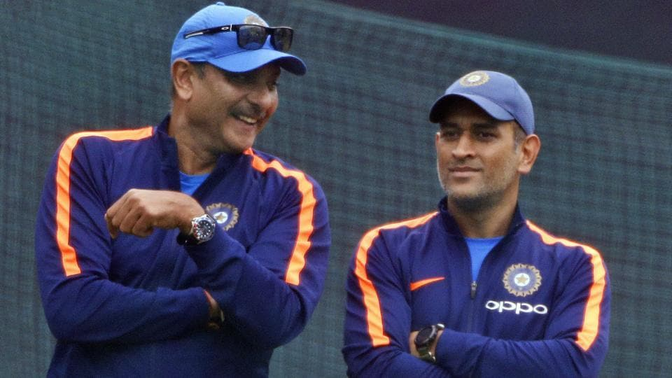 Ravi Shastri backed MS Dhoni to play for the Indian cricket team in the 2019 ICC World Cup.