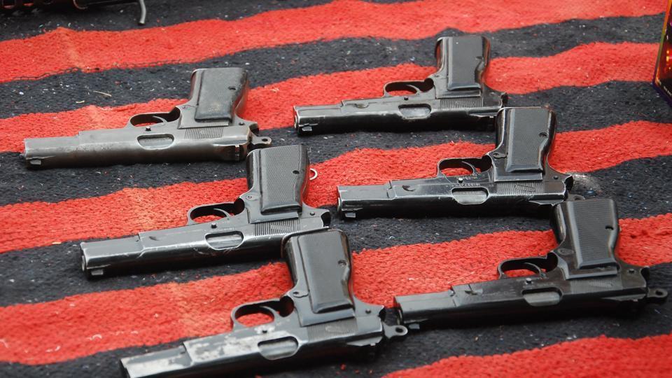 Chittorgarh seizure,Pratapgarh,19 pistols and a revolver