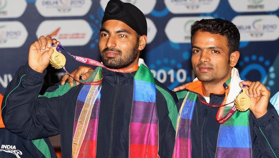 Rajyavardhan Singh Rathore,Abhinav Bindra,Gagan Narang