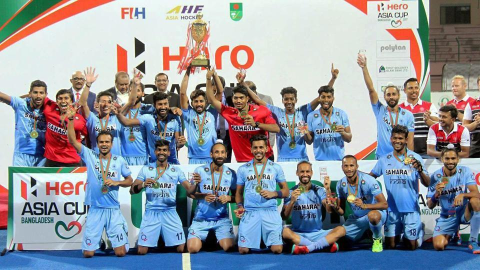 The Indian hockey team won the Asia Cup in Dhaka in October. That was one of the highlights of 2017.